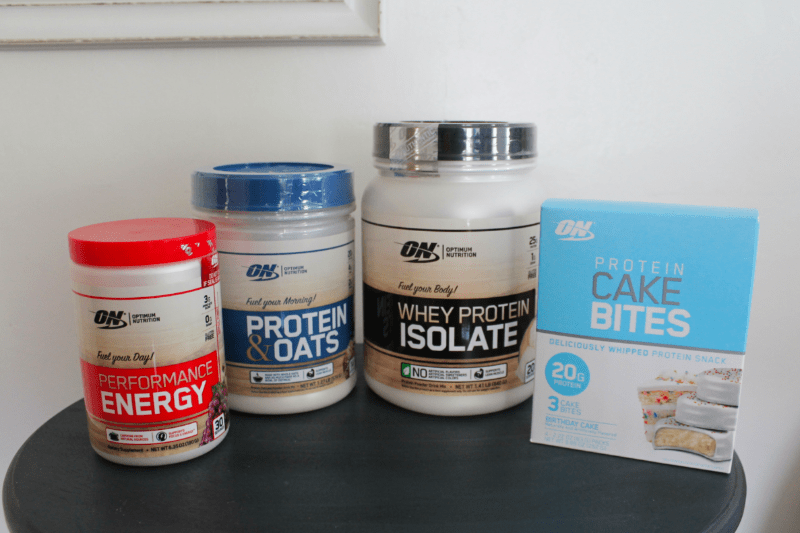 Optimum Nutrition Product Line-up Walmart