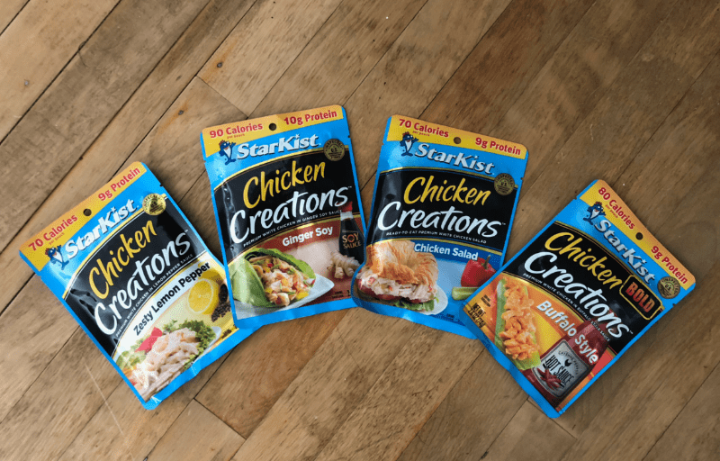 StarKist Chicken Creations Flavors
