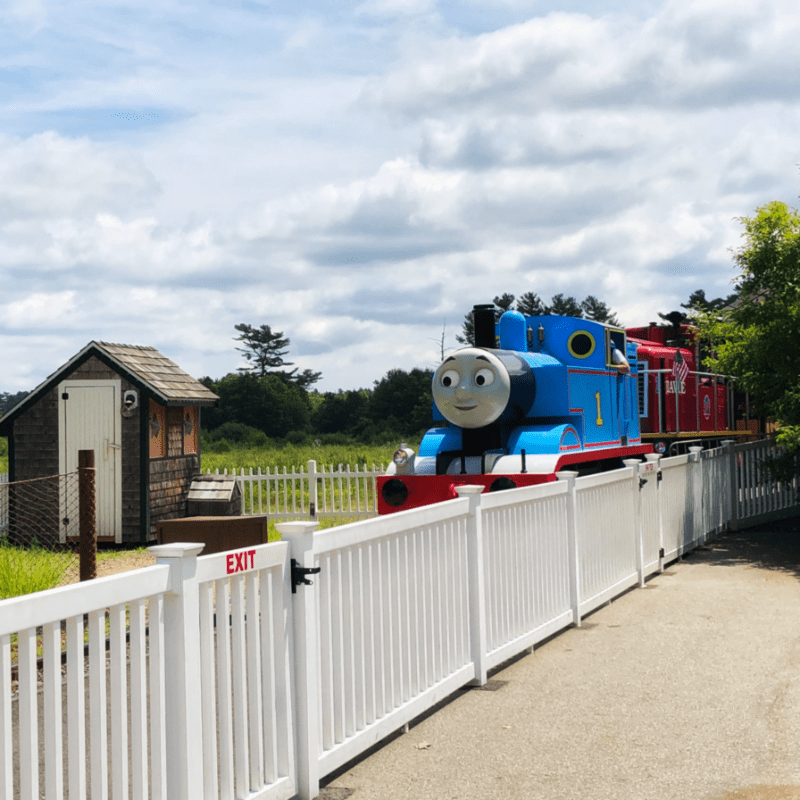 Thomas the Tank Engine Edaville Family Theme Park